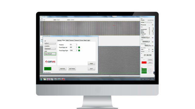 comvis texplorer inspection software for narrow and wide fabric