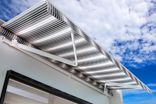 wide fabric inspection of awnings