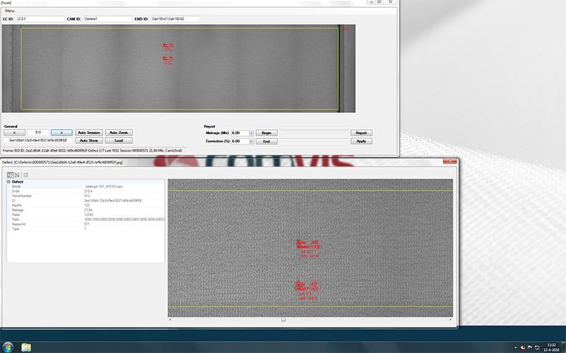 comvis texplorer defect analyzer